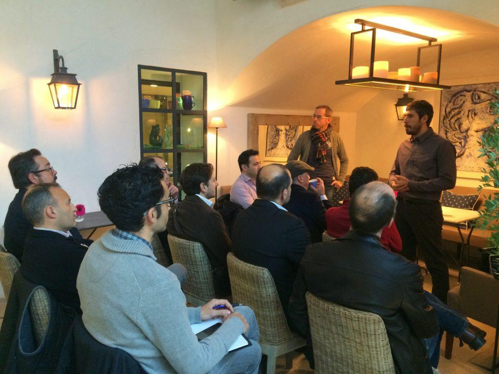 Primer CaféTIC organizado por Gsbit, en Rialto Living con Jorge Morell