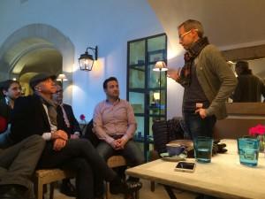 Primer CaféTIC, en Rialto Living con Jorge Morell